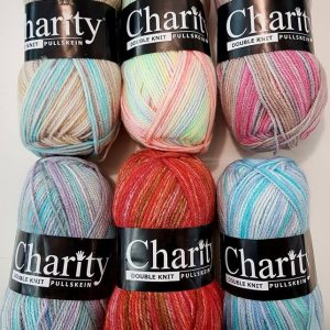 Craft Concept Charity double knit variegated