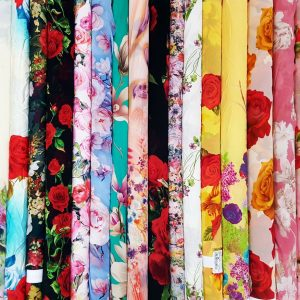 Craft Concept Digital Print Chiffon