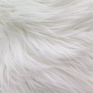 Craft Concept Long hair white fur