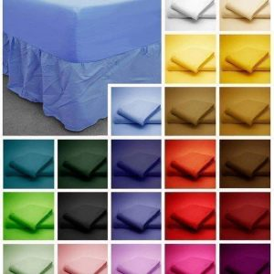 Combo sheet set Micro fiber Fitted sheet with attached nightfrill